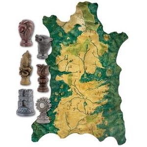 Game Of Thrones - Réplique 1/1 carte de Westeros de Robb Stark avec marqueurs DARK HORSE