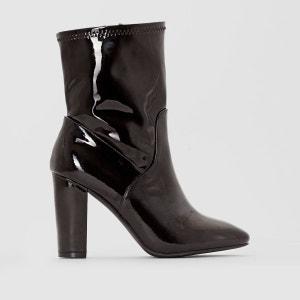 Boots vernies talon haut La Redoute Collections