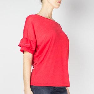 Effen T-shirt met ronde hals en korte mouwen LE TEMPS DES CERISES