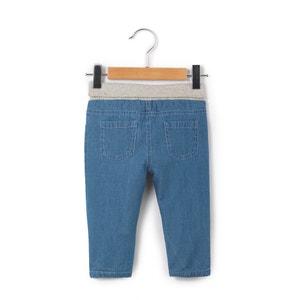 Jeans com forro em algodão, 0 meses - 3 anos R mini