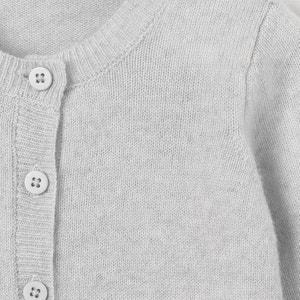 Cárdigan de lana y cachemir 0 meses-3 años R essentiel