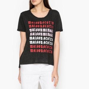 Tee shirt à motif sérigraphié MAISON SCOTCH