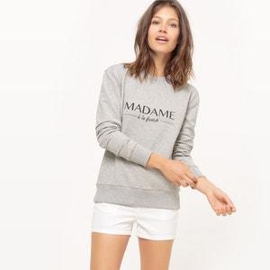 Madame A La French Slogan Sweatshirt R essentiel