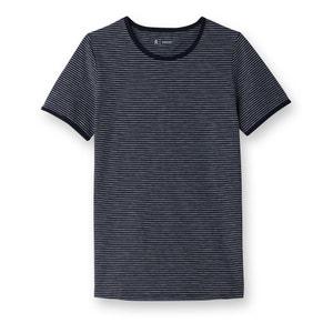T-shirt con scollo rotondo in cotone bio R essentiel