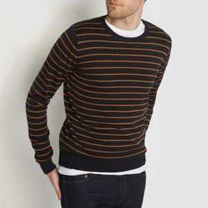 Пуловер в полоску 100% хлопок R essentiel