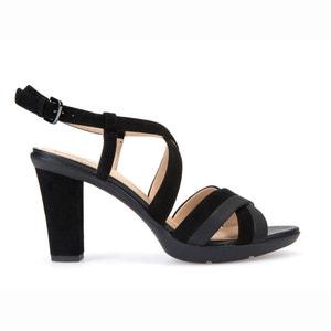 Sandalen met hak D Jadalis B GEOX