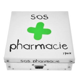 Boite de rangement déco en plastique grand modele - SOS Pharmacie INCIDENCE