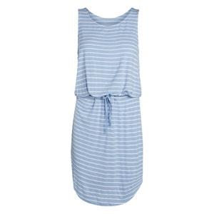Prosta krótka wzorzysta sukienka bez rękawów PIECES