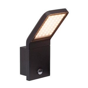 PANEL - Applique d'extérieur LED avec Détecteur Noir H25,6cm BRILLIANT