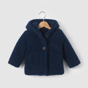 Fleecy Hooded Coat, 1 Month-3 Years R mini