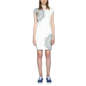 Kleid, gerade Form, grafischer Print, kurz DESIGUAL