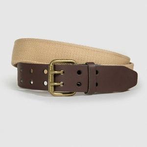 Leather Belt CASTALUNA FOR MEN