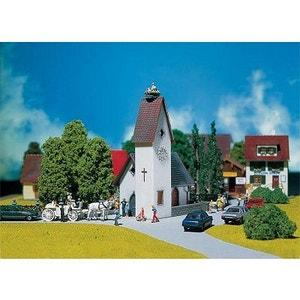 Modélisme HO : Eglise de village PLAY TRAIN FALLER