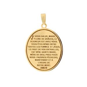 Médaille en Or 375/1000 Jaune CLEOR