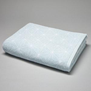 Handdoek in badstof met Noordse print 500g/m2 La Redoute Interieurs
