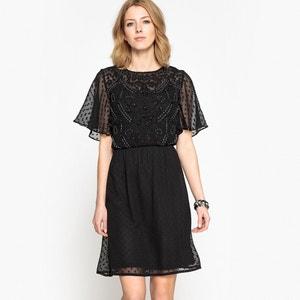 Платье с вышивкой гладью ANNE WEYBURN