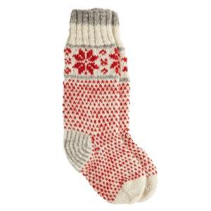 Chaussettes de Noël Tricot Flocons de Neige Joe Brown JOE BROWNS
