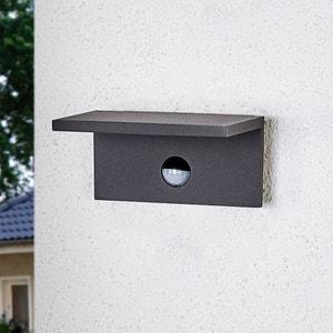 Applique d?extérieur LED carrée Darina, détecteur LAMPENWELT