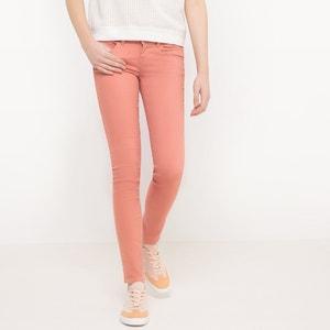Calças slim, cintura normal, efeito push-up, comprimento 32 ONLY