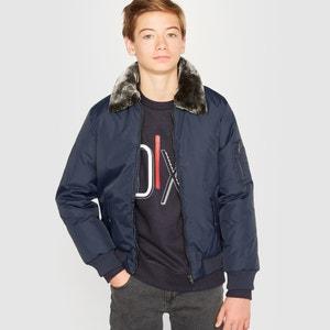 Aviator jasje met uitneembaar bont R pop