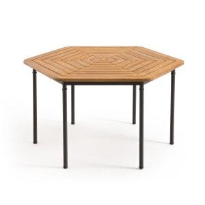 Table de jardin octogonale acacia FSC, Kajlaw La Redoute Interieurs