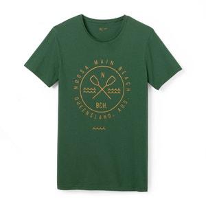T-shirt scollo rotondo fantasia puro cotone R édition