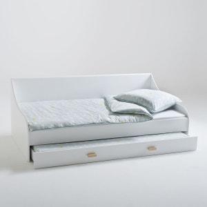 lit gigogne blanc 90x190 la redoute. Black Bedroom Furniture Sets. Home Design Ideas