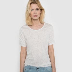 Speckled-Effect T-Shirt R studio