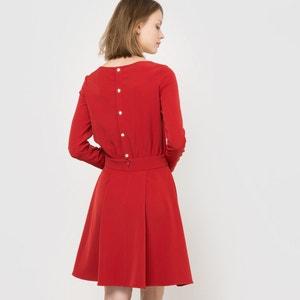 Vestido de cerimónia, botões atrás La Redoute Collections