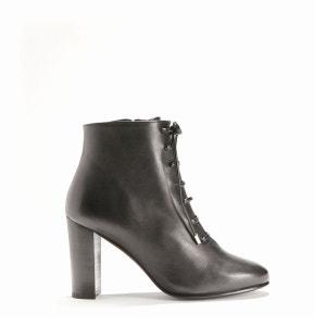Boots croûte de cuir THE KOOPLES