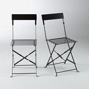 Chaise pliante métal, OZEVAN (lot de 2) La Redoute Interieurs image
