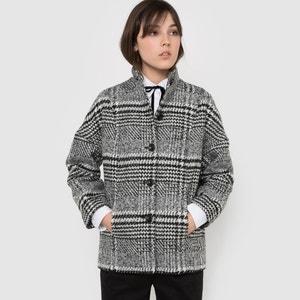 Herringbone Boxy Cropped Coat R édition