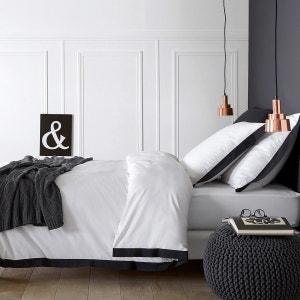 Épure White/Black Duvet Cover La Redoute Interieurs