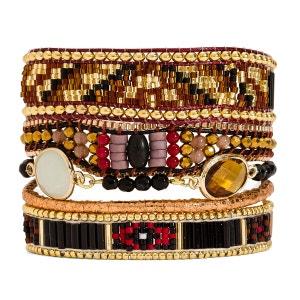 bracelet femme ocre Brune HIPANEMA