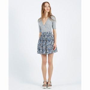 Falda Conkerberry Floral Print Skater Skirt COMPANIA FANTASTICA