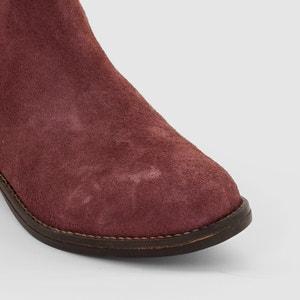Boots in pelle Dorine PASTELLE