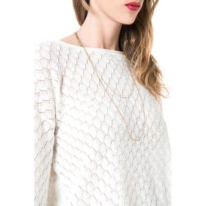 Ażurowy sweter z długimi rękawami BEST MOUNTAIN