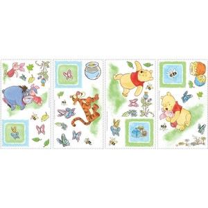 41 Stickers Papillon Winnie l'Ourson Disney ROOM MATES