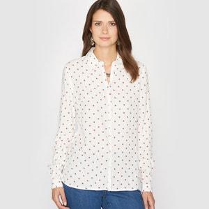 Blusa vaporosa con estampado de lunares ANNE WEYBURN