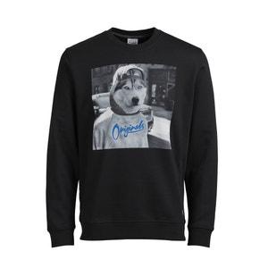 Jorhilarious Printed Sweatshirt JACK & JONES