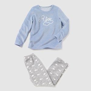 Pyjama, Samt, 2–12 Jahre R édition