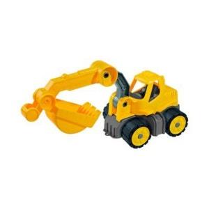BIG La mini-pelleteuse Power-Worker véhicule BIG