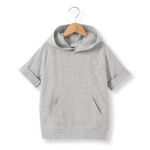 Camiseta con capucha de felpa 3-12 años abcd'R