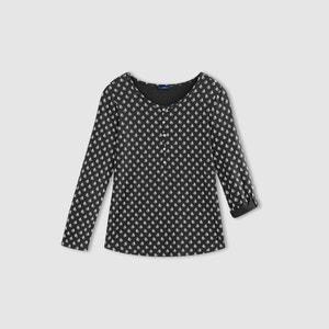 Softly Draping Paisley Print T-Shirt TOM TAILOR