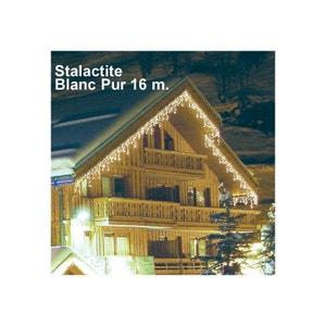 Guirlande Stalactite 16 m Blanc Pur MILLUMINE