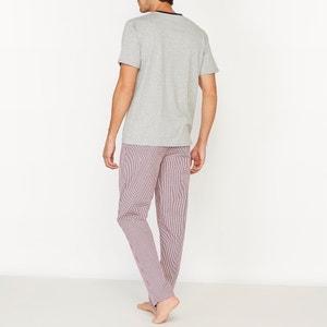 Pyjama mit karierter Hose La Redoute Collections
