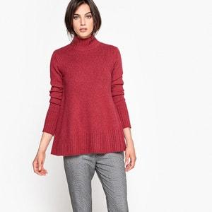 Pull tunique, laine et alpaga La Redoute Collections