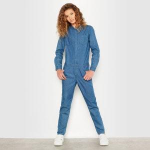 Combinaison longue en jean 10-16 ans R pop