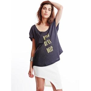 T-shirt à manches courtes River Runs Gris SOMEDAYS LOVIN