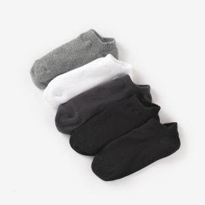 Calcetines cortos lisos (lote de 5) R édition